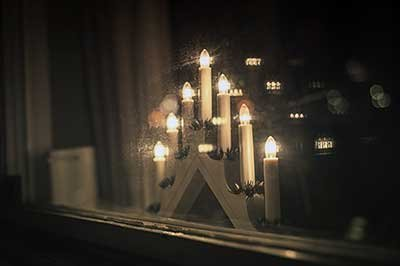 Do you know how much it costs to leave your electric Christmas candle burning?