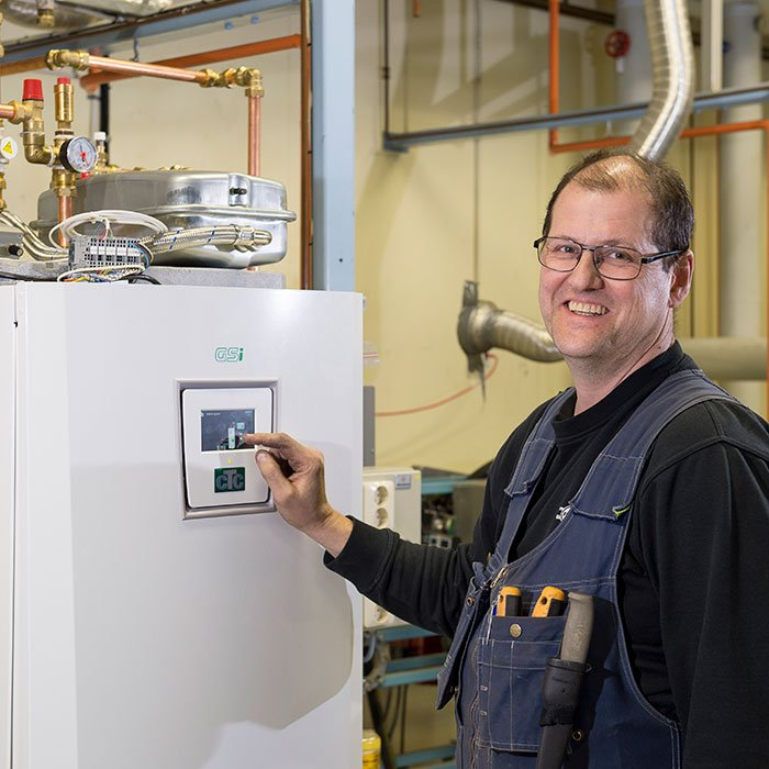 CTC's heat pumps are easy to connect and always work flawlessly from the outset.